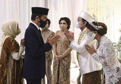 Presiden Jokowi Jadi Saksi Nikah Atta & Aurel. Atta Tak Bisa Tahan Tangis Lalu Minta Maaf.